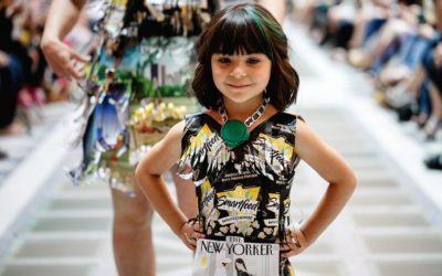 Where art, fashion, and sustainability collide